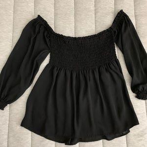 Express off the shoulder blouse